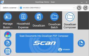 DoxaScan ScanSnap Integration