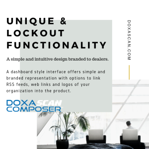 DoxaScan Composer Unique and Lockout Functionality