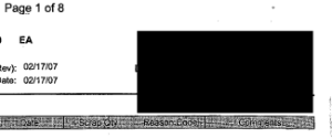 An example of an annotation blackout redaction added to an image file.