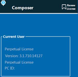 DoxaScan Composer License
