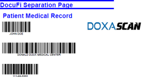 DoxaScan Composer Separation Page