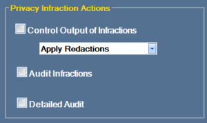 DoxaScan Composer - Privacy Auditor Infraction Actions