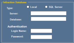 DoxaScan Composer - Local or Network Database storage