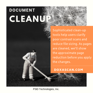 DoxaScan Document Cleanup