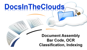 Docs In The Clouds provides a simple, yet effective and affordable cloud hosted document process automation including scanning and capture.